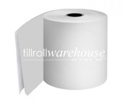 82 x 74 x 17.5mm Core 2 Ply Rolls White/White Boxed 20s - 087